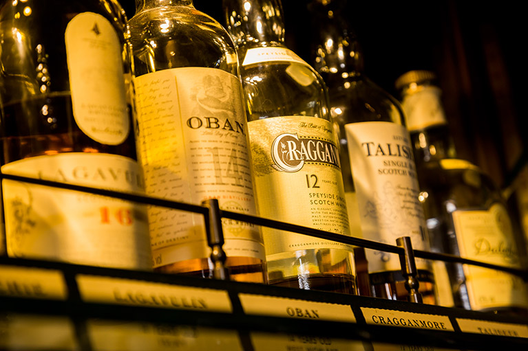 Excellent Whisky Selection